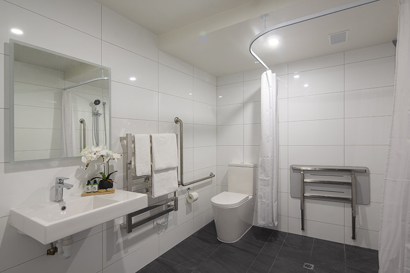Koura apartments special access bathroom