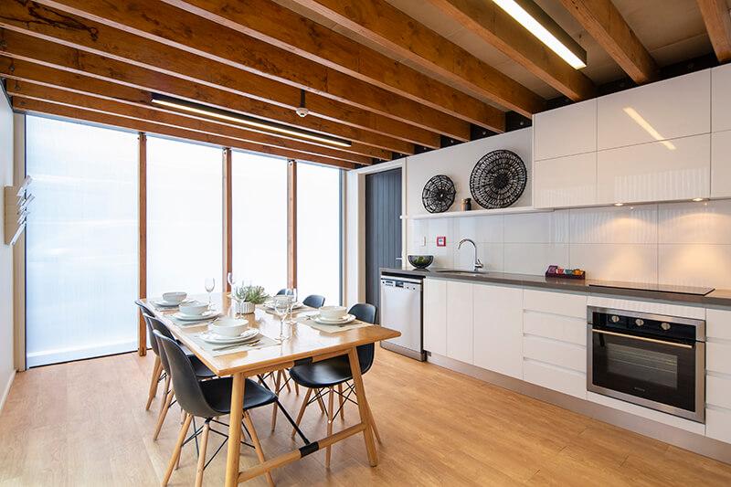 Koura Apartments kitchen